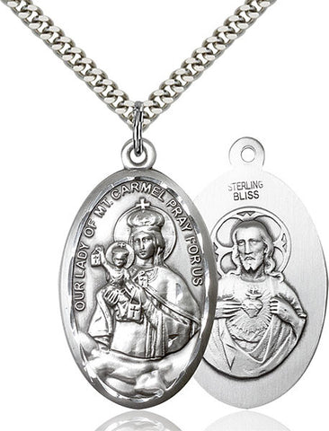 Our Lady of Mount Carmel Medal - FN1656SS24S
