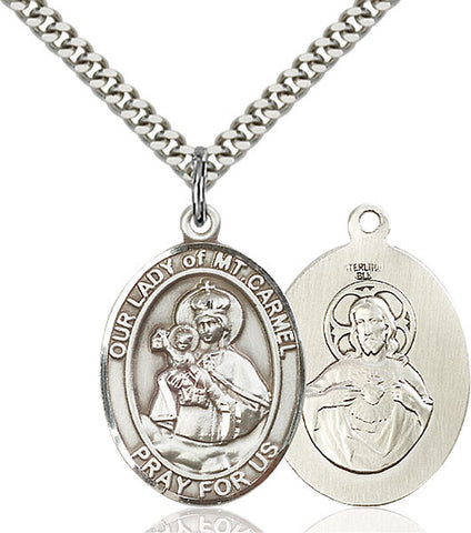 Our Lady of Mount Carmel Medal - FN7243SS24S