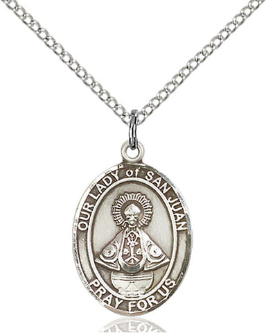 Our Lady of San Juan Medal - FN8263SS18SS