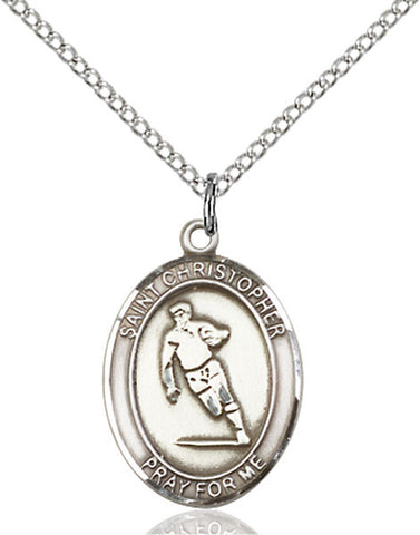 St. Christopher / Rugby Medal - FN8194SS18SS