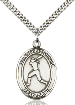 St. Christopher/Softball Medal - FN7145SS24S