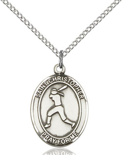 St. Christopher/Softball Medal - FN8145SS18SS
