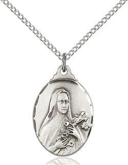 St. Theresa Medal - FN0599TSS18SS