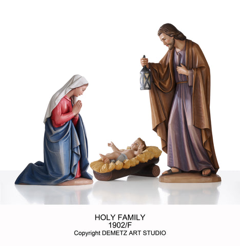 "Nativity Set ""Kostner"" 30"" Linden Wood - HD1902L30"