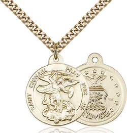 St. Michael the Archangel Medal - FN0342GF124G