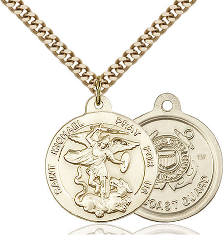 St. Michael the Archangel Medal - FN0342GF324G