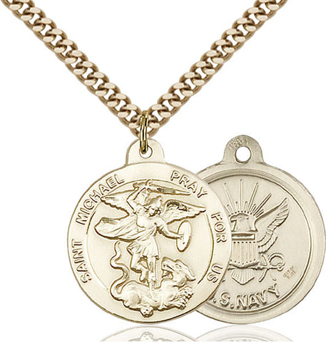 St. Michael the Archangel Medal - FN0342GF624G