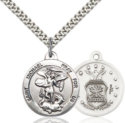 St. Michael the Archangel Medal - FN0342SF124S