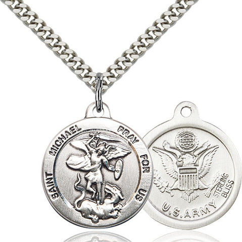 St. Michael the Archangel Medal - FN0342SF224S