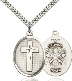 Cross / National Guard Medal - FN0783SS524S