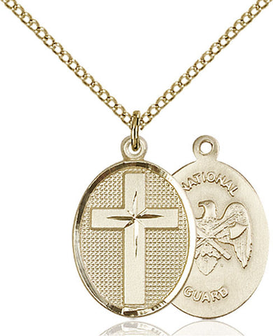 Cross / National Guard Medal - FN0883GF518GF