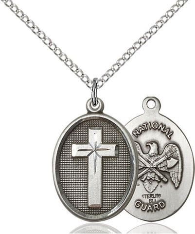Cross / National Guard Medal - FN0883SS518SS