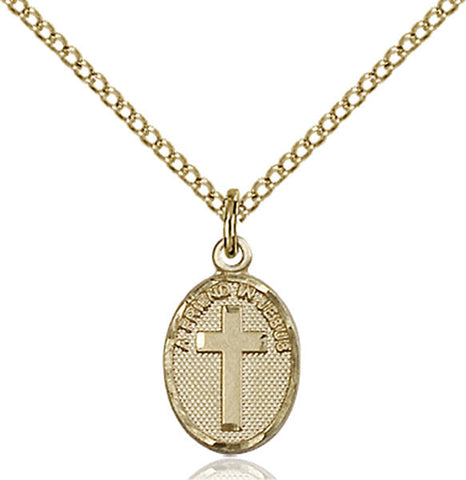 Friend In Jesus Cross Medal - FN0981GF18GF