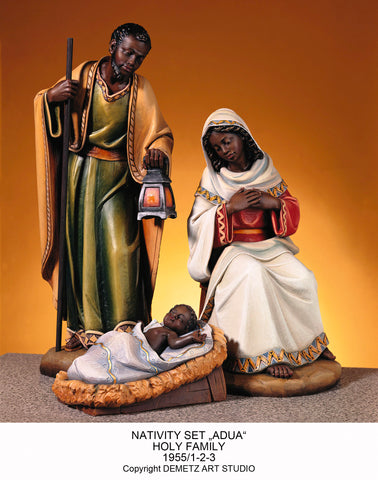 Holy Family with African Features - HD1955/AUD/DA