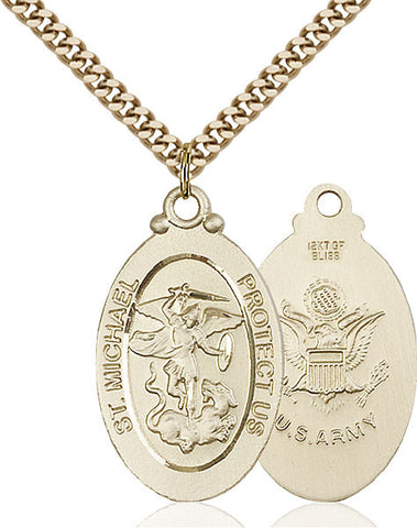 St. Michael the Archangel Medal - FN4145RGF224G