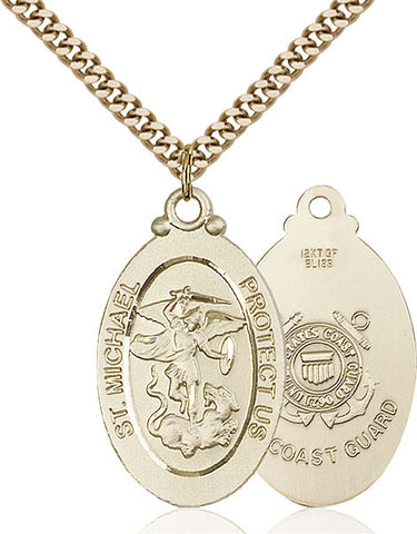St. Michael / Coast Guard Medal - FN4145RGF324G
