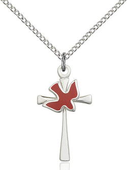 Cross / Holy Spirit Medal - FN5229RSS18SS