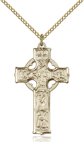 Celtic Cross Medal - FN5439GF18GF