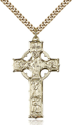 Celtic Cross Medal - FN5459GF24G