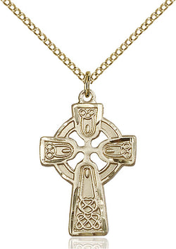 Celtic Cross Medal - FN5689GF18GF