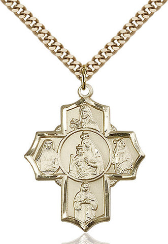 Our Lady of Mount Carmel Medal - FN5702GF24G