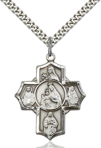 Our Lady of Mount Carmel Medal - FN5702SS24S