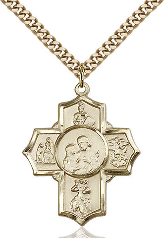 5-Way Firefighter Medal - FN5709GF24G