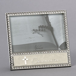 "6"" Communion Frame with Rhinestones - LI19733"
