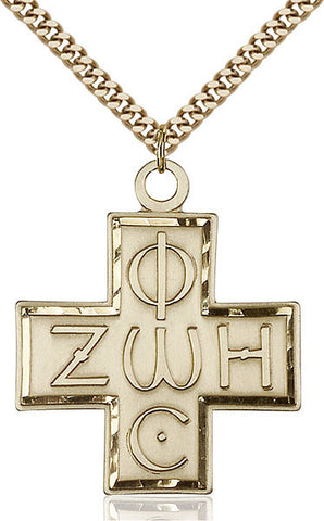 Light & Life Cross Medal - FN6075GF24G