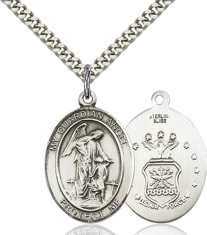 Guardian Angel Medal - FN7118SS124S