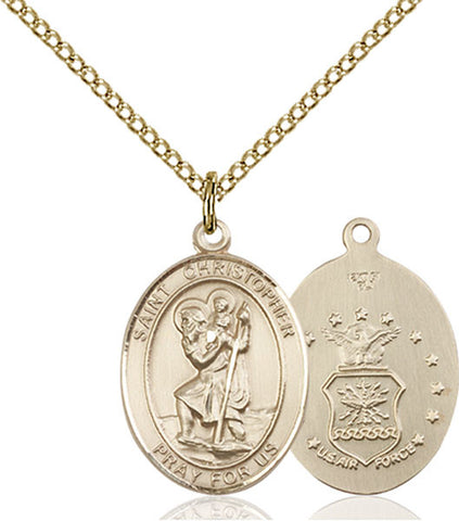 St. Christopher / Air Force Medal - FN8022GF118GF