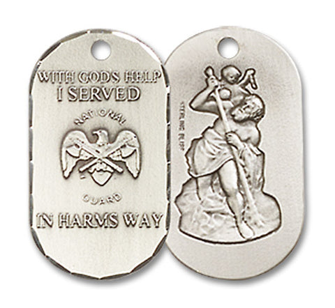 National Guard Medal - FNM26SS518SS