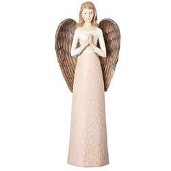 Damask Medium Pink Angel - LI19997