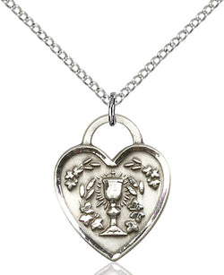 Communion Heart Medal - FN3204SS18SS