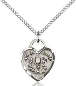 Communion Heart Medal - FN3404SS18SS