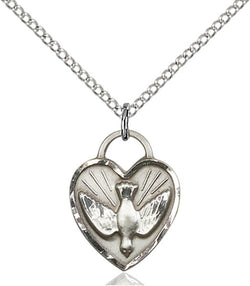 Confirmation Heart Medal - FN3405SS18SS