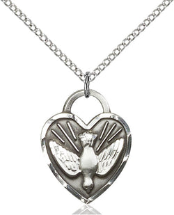 Confirmation Heart Medal - FN3205SS18SS