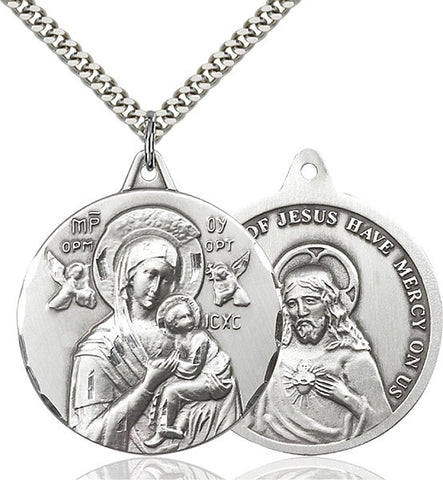 Our Lady of Perpetual Help Medal - FN0203HSS24S