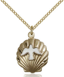 Shell / Holy Spirit Medal - FN1259KT