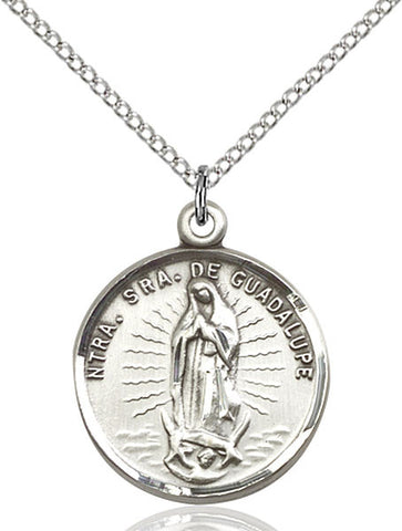 Our Lady of Guadalupe Medal - FN2075SF18S