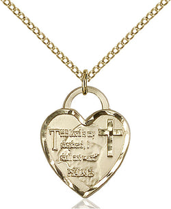 Bridesmaid Heart Medal - FN3211GF24G