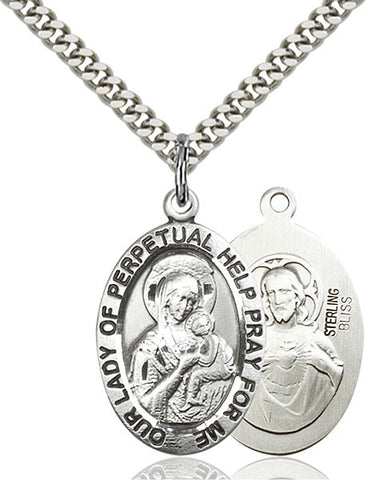 Our Lady of Perpetual Help Medal - FN4022SF24S