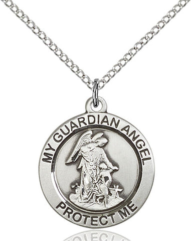Guardian Angel Medal - FN4053SF18S