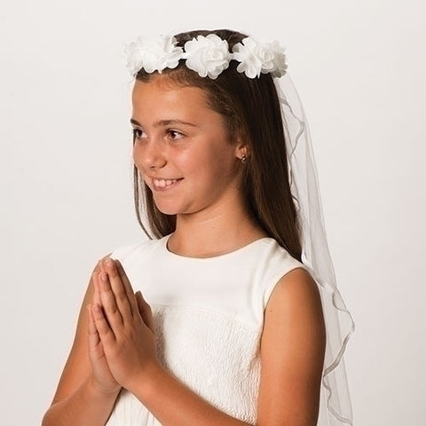 Emily First Communion Veil - LI21825