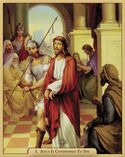 Stations of the Cross - QF21STA80