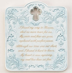 Memorial Wall Plaque - LI10232