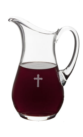 Glass Flagon - EG9140