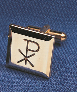 Cuff Links Chi Rho Cross - OFCUFFLINK#4