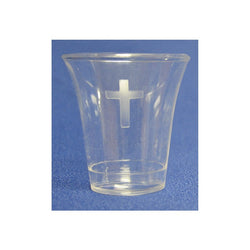 Etched Cross Cup - SV56472