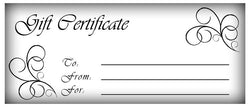 Michigan Church Supply Gift Certificate